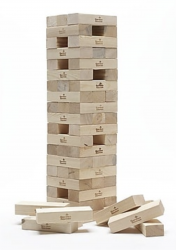 Giant Jenga Game (stacks over 4ft)